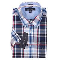 Tommy Hilfiger Men's Short Sleeve Custom Fit Casual Shirt - $0 Free Ship