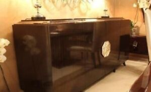 Interio AdVivum Wood Glossy Large Sideboard Tableware Storage Cabinet RRP £4675