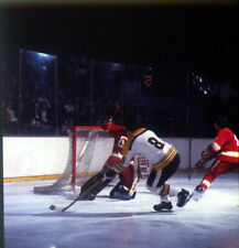 9 - 2 1/2 x 2 1/2 Colour Transparencies of the Boston Bruin Players  action