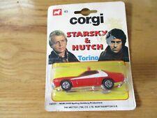 VERY RARE (#45) Corgi Starsky & Hutch Torino movie car (#56025) 1/64th scale