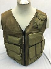 Eagle Industries TAC V 1 Assault Vest Khaki Old School Trim Tab  SEALs Large