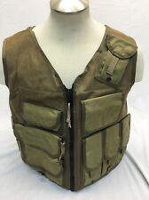 Eagle Industries TAC V 1 Assault Vest Khaki Old School Trim Tab  SEALs Large