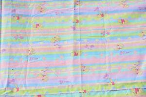 "Pooh's friend Piglet pastel cotton print 2.125 yards 45"" Springs Industried WTP"
