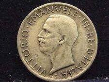 Italia 5 lire, 1926 Re Vittorio Emanuele III ARGENTO% 835 x239