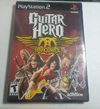 Guitar Hero Aerosmith PS2 New Playstation 2 Sealed
