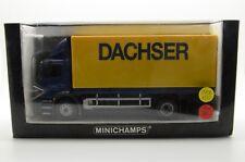 Mercedes Atego 1828 Truck DACHSER Minichamps 439 380022 1/43