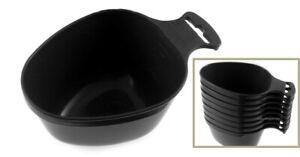 GENUINE SWEDISH ARMY MILITARY LIGHTWEIGHT CUP MUG BLACK PLASTIC SURVIVAL