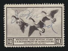 US RW3 $1 Federal Duck Stamp Used VF SCV $100
