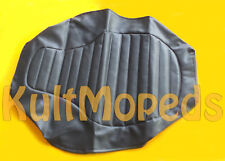 Sitzbank Bezug MZ ETZ 125 150 251 301 Sitz strukturiert gesteppt schwarz o. Logo