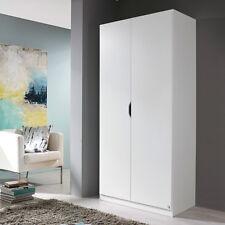 Kleiderschrank Freiham Drehtürenschrank Schlafzimmerschrank 2-türig weiß 91 cm