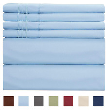 Extra Deep Pocket Sheets - Deep Pocket King Size Sheets - Extra Deep Bed Sheets