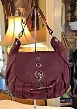 "Marie Odile Soltek"" NWT Genuine Italian Wine Leather Shoulder-Bag/Purse"