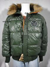 ALPHA INDUSTRIES Combat N-2B Short Waist Down Parka Sage Green/Orange size XXL