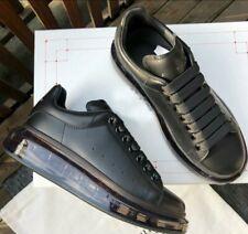 Mens Alexander Mcqueen Oversized Sneaker Black Size 11.