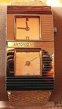 Reloj dama Antonio Miró muy original, con esfera segundero autónoma,  nuevo.