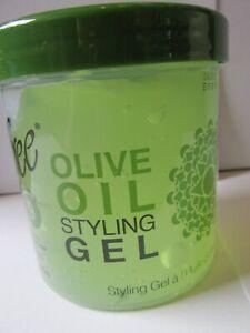 Sofn'free Olive Oil Styling Gel 15 OZ / 425 G FREE P&P