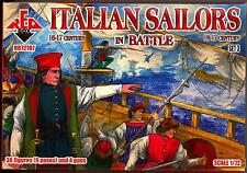Red Box Models 1/72 ITALIAN SAILORS IN BATTLE 16th-17th Century Figure Set #3