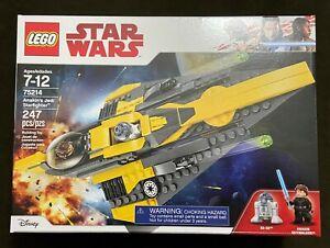 LEGO Star Wars Anakin's Jedi Starfighter 75214 The Clone Wars Retired NEW