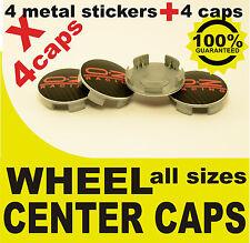 tapas llantas  ruedas OZ RACING CARBONO NEGRO RED wheel center caps 55mm 60mm 4x