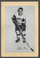 1944-63 Beehive Group II Detroit Red Wings Hockey Photos #159 Billy Dea