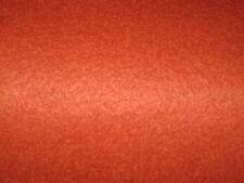"Primitive Burnt Orange Wool Felt 20/80 By The 1/2 Yard 36"" Wide"