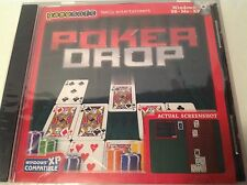 Poker Drop GameSoft Family Entertainment 2005 PC Game Windows New Fast Shipping