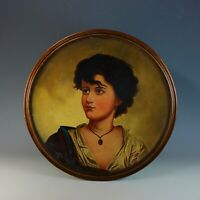 Italian School 19th Century Oil Painting Portrait