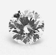 0.58ct H Color SI2 Clarity Round Excellent Cut  Brilliant Diamond,Engagement