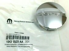 Dodge Charger Challenger Durango Avenger chrome logo Wheel Center Cap new OEM