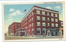 Beckley WV Beckley Hotel post card