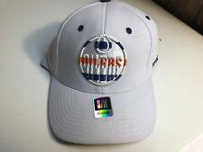 Edmonton Oilers Stretch Fit Flex Cap Hat NHL Authentic NEW size S/M