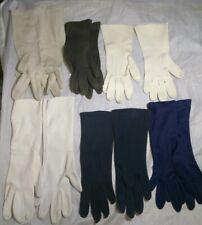 6 Pair Of Vintage Women'S Gloves.1 Is Van Raalte & 1 Is Philippines. Others Unma
