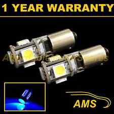 2x bax9s h6w 434 Canbus Error Free Azul 5 Led sidelight Bulbos Hid sl101501