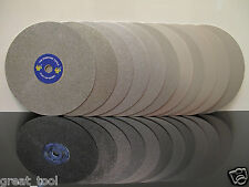 "8"" INCH Grit 1200 Diamond coated Flat Lap wheel Lapidary grinding polishing disc"
