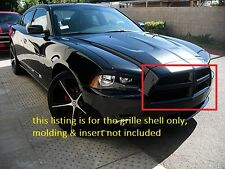Dodge Charger Gloss Black Front Grille SE SXT RT 2011 2012 2013 2014 11 12 13 14