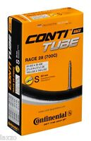 Continental Race 28 Road Bike Inner Tube 700c x 20-25 Presta 60mm bicycle
