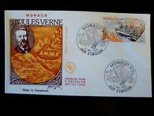MONACO PREMIER JOUR FDC YVERT  1128      J. VERNE - ROBUR     0,80F      1978