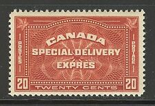 Canada #E4, 1930 20c Special Delivery, Unused Never Hinged