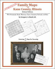 Family Maps Kane County Illinois Genealogy Plat History