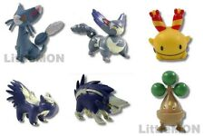 #431] 6x PokeMON Figures = Glameow Purugly Chingling Stunky Skuntank Bonsly