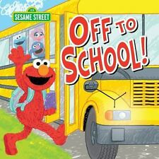 Sesame Street Scribbles Elmo: Off to School! 0 by Sesame Workshop (2015,...