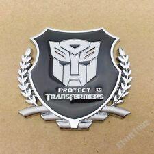 Car Trunk Motorcycle Gas Tank 3D Metal Badge Emblem Sticker Transformers Autobot