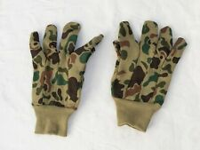 Camo hunting gloves, old but look okay - gea1845
