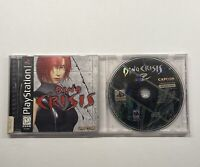 Playstation 1 Dino Crisis 1 Complete Black Label & Dino Crisis 2 Disc Only PS1