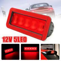 5 LED Car Warning Rear Tail 3rd Third Brake Stop Light High Mount LED Lamp AU