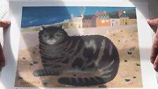 'Cat on a Cornish Beach', by Mary Fedden, Signed Limited Edition