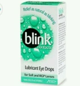 Blink Lubricating Eye Drops for Contact Lenses - 0.34 fl oz 11/10/21