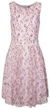 Vestiti da donna rosa di pizzo