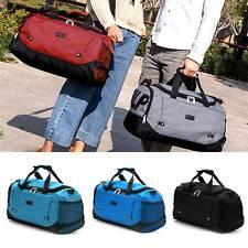 Mens Ladies Large Holdall Sports Shoulder Bag Adjustable Travel Duffle Bag
