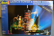 Revell 1/144 Navette Spatiale & Launch Tower plus Warbird Shuttle Tile Decal Set